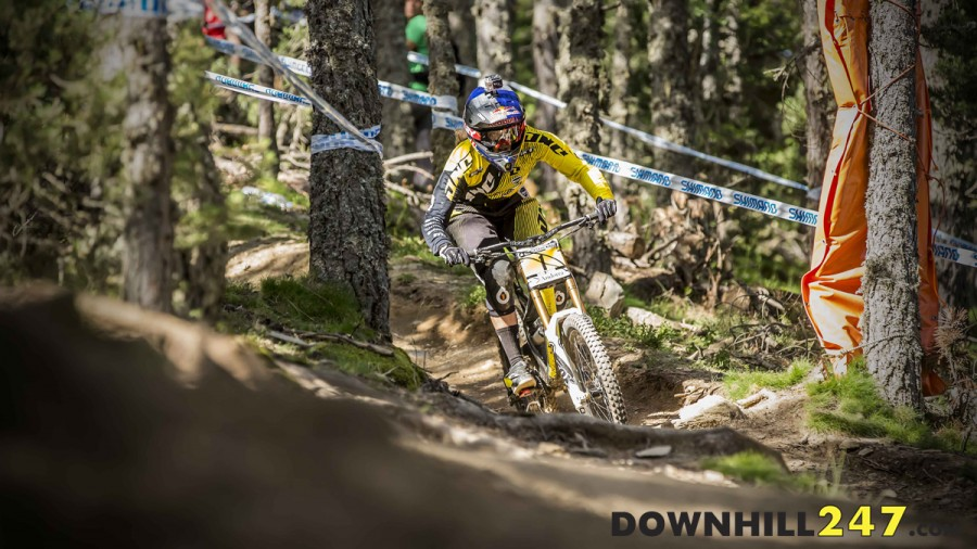 Unstoppable! Rachel Atherton was really pushed by Manon Carpenter but still took the win, three from three - can anyone stop her?!