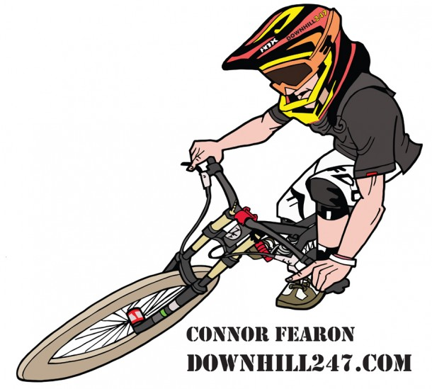 Connor Fearon has been slaying it for a while so we thought we would commemorate this with a limited sticker!