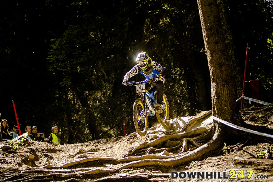 Sam Hill escaping the darkness