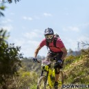 Some riders donned the full face for the whole race, some just for the stages that used the downhill track which the National Championships were held on a few years ago.