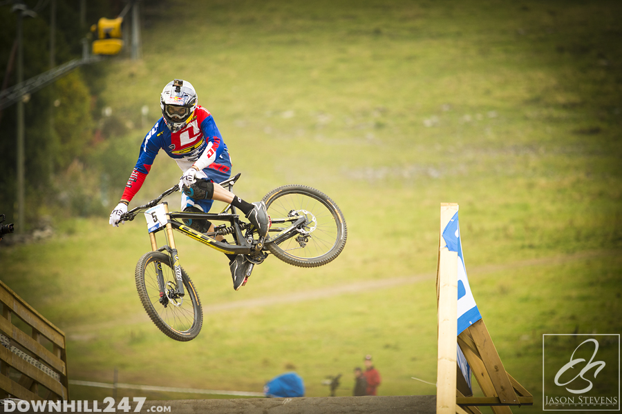 September saw Norway host the world championships and Gee Atherton grab win number 2.