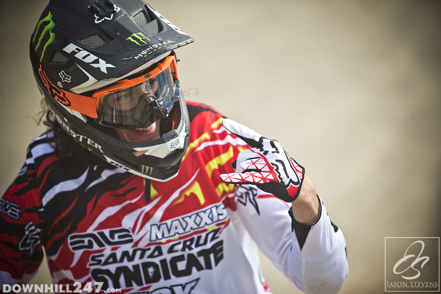 IN what was a sign to come June saw Josh Bryceland take his first world cup victory.