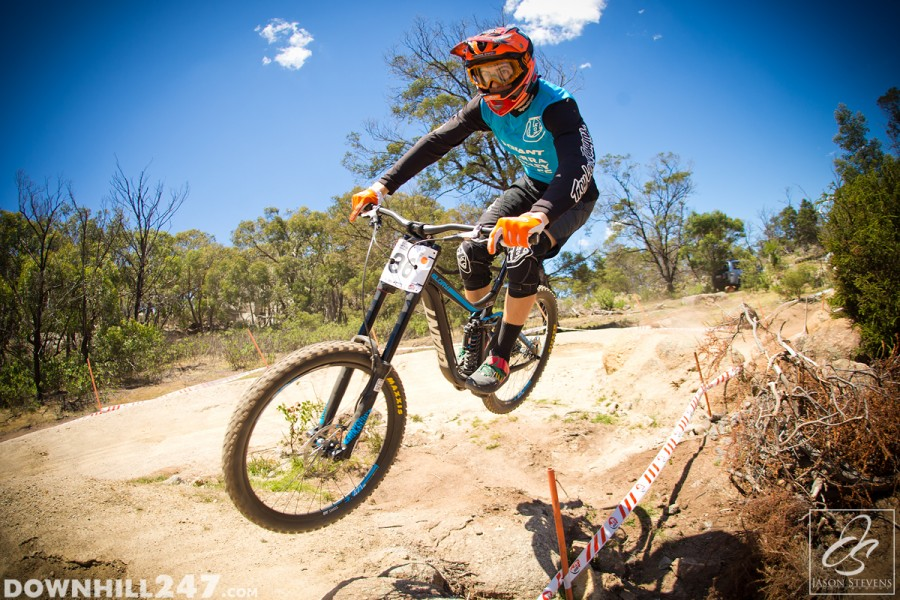 December saw the kick off for the new national downhill series in You Yangs.