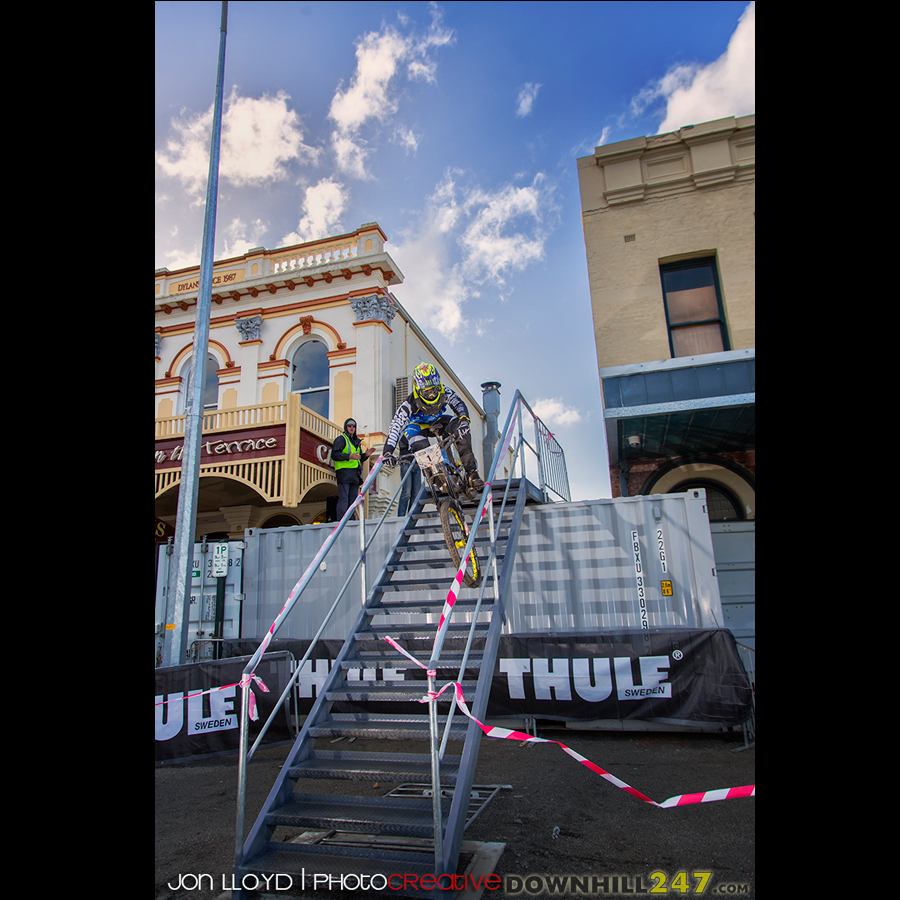 June saw us head west for something different, the Albany urban downhill race.