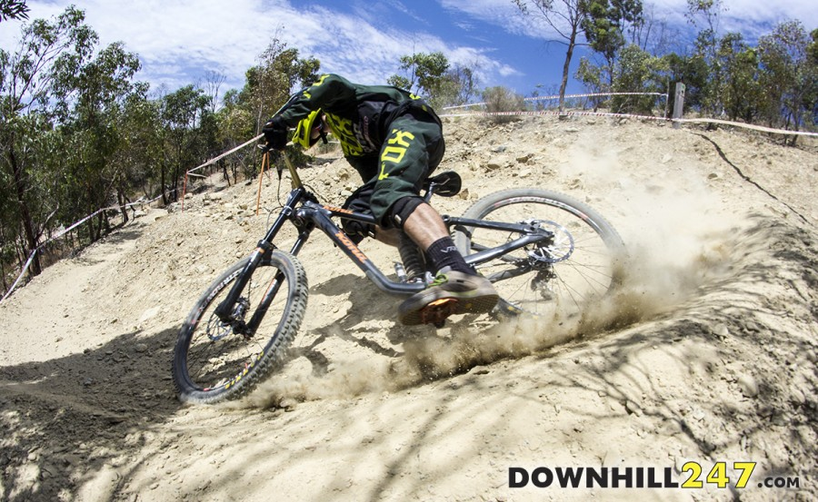 Round 1 of the Nationals Series, held in the hills surrounding Adelaide at Eagle Mountain Bike Park was a big event. Won by Connor Fearon on his birthday none the less...