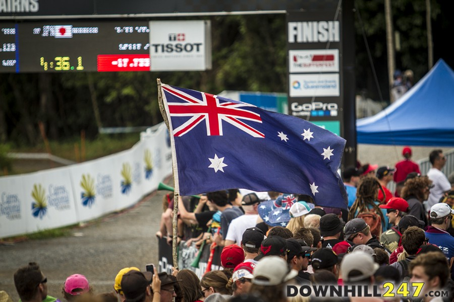One of the highlights of the year was the return to Australia for the world cup series. Cairns was the host and the weather played a large part but regardless it was a great event.