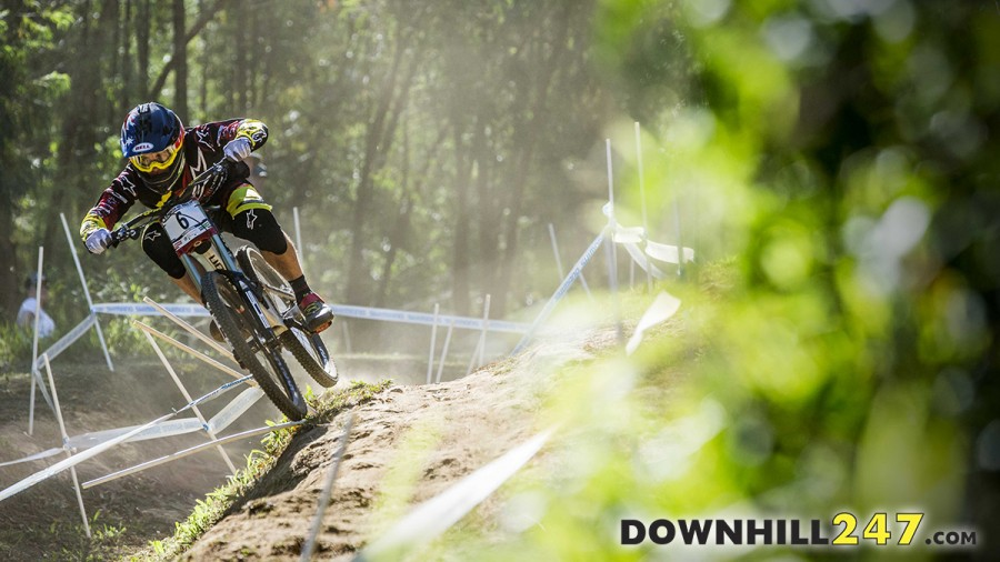 April saw the world cup season kick off in South Africa won by Aaron Gwin.