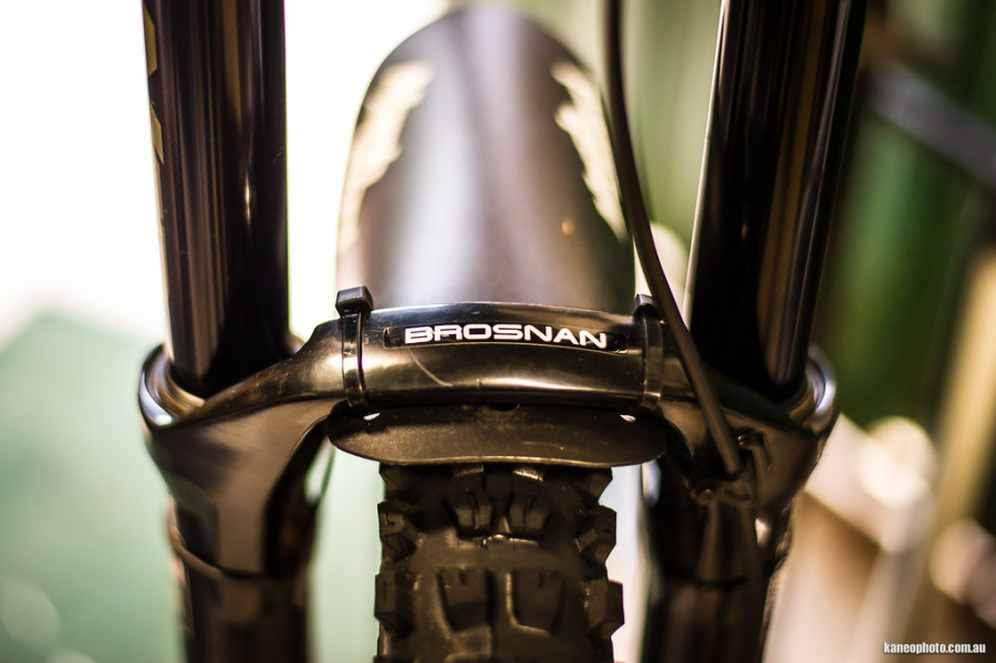 Always cool to have your name on your bike/components!