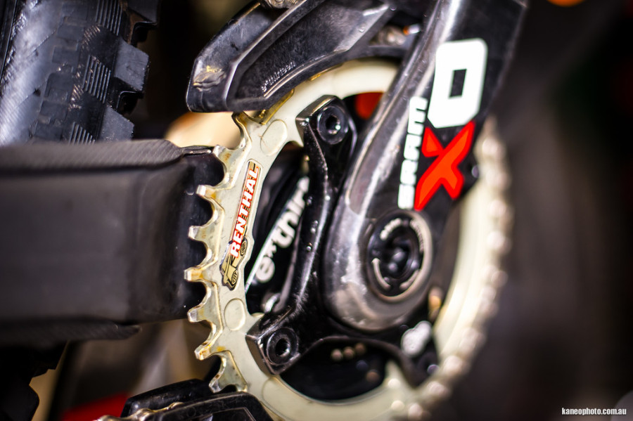 A nice looking narrow wide 36 tooth Renthal sprocket.