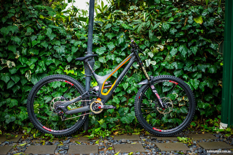 Are you looking at the winning bike for the upcoming Fort William World Cup? Quite possibly...