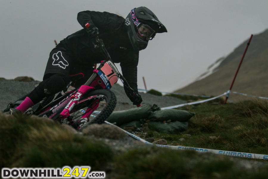 The pink worked for Tahnee Seagrave who took her best result to date in 2nd place.
