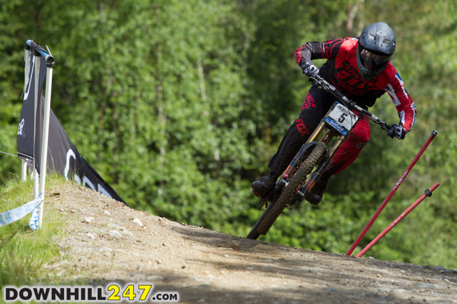 Unfortunately Josh Bryceland didn't figure in the finals as he missed out on qualification.