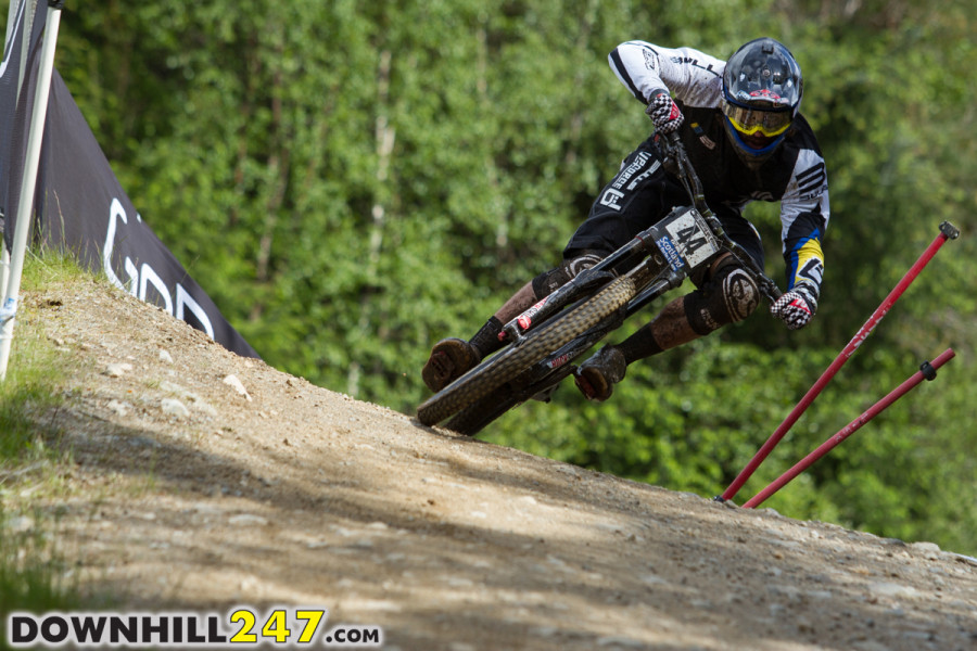 Wyn Masters best world cup result to date in 11th place.