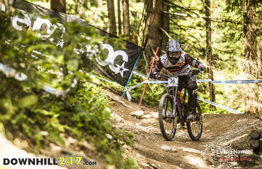 Leogang, a track Connor has always done well at.