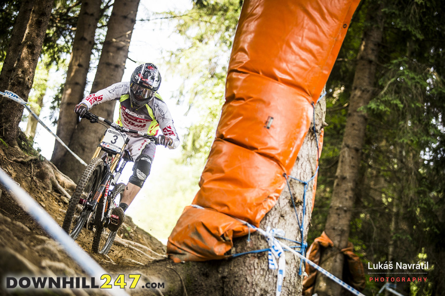 A favourite for many, Greg Minnaar has won world cups and championships on this course.