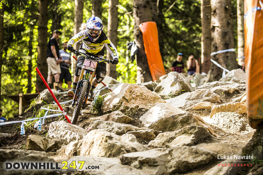 Rachel Atherton overcame her Leogang dry spell by winning on the weekend.