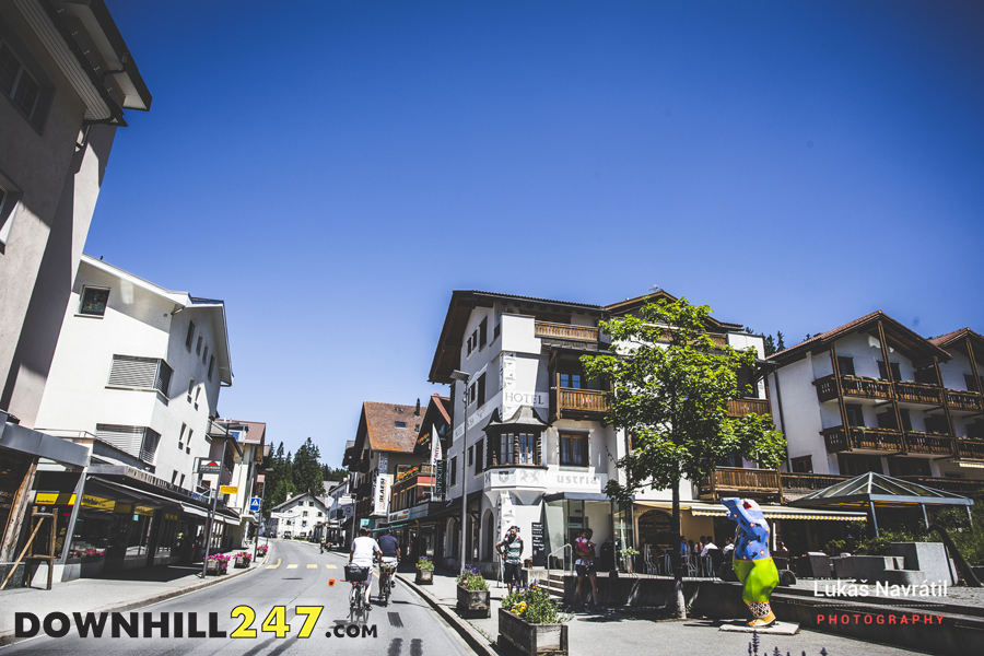 Welcome to Lenzerheide! A picturesque town in Switzerland and home of World Cup #4.