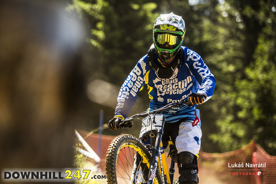 Sam Hill was back, even before his doctor said he should be, so he was using this race to get some 'race feel'. The next round takes us to Mont Saint Anne where Sam has won countless times before. We feel he will have his eyes on this race to launch his season comeback.