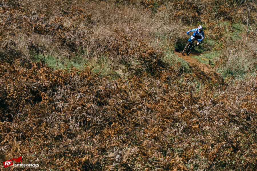 A good range of trails kept everyone chuffed.