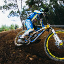 Sam Hill smashing out runs in the arvo, and looking fast by the end of the day.