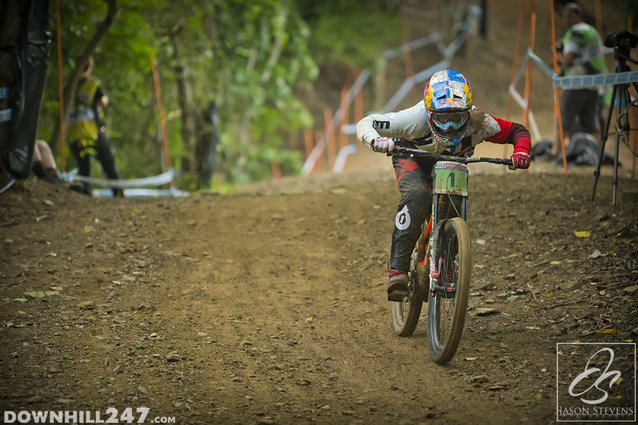 The juniors is as hotly contested as ever, we hope to see an Aussie on the top step.
