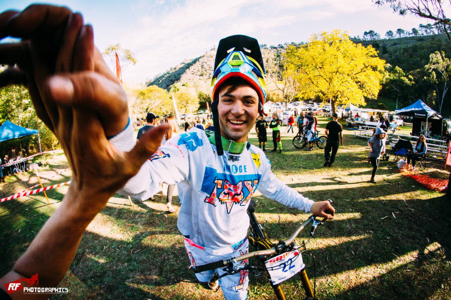 The local boy Callum Morrison produced the goods to snag his first elite win.