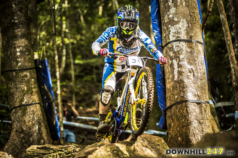 Sam Hill looking to drop his number at his home race!