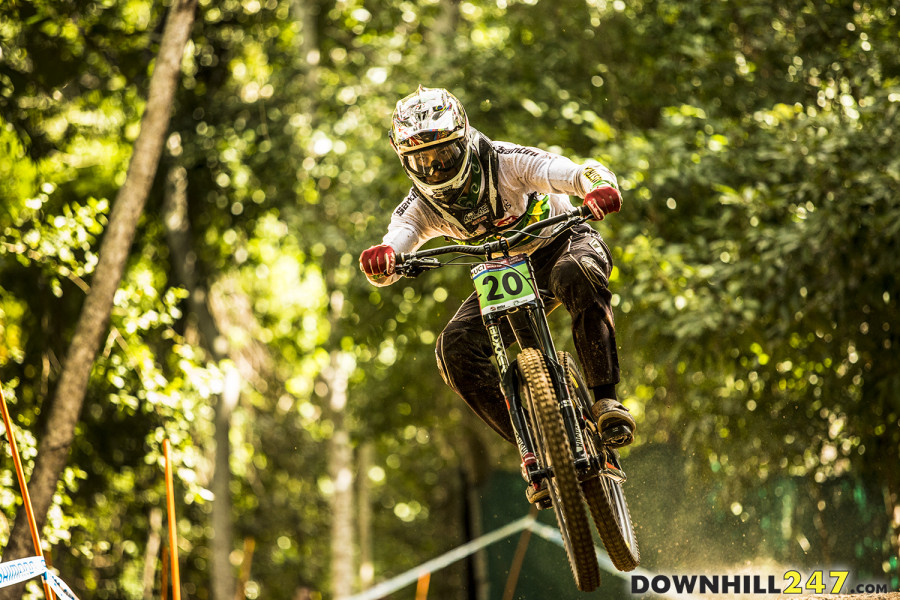Harry Bush qualified second in the junior men's class, we are hoping to see plenty of Aussies on the podium tomorrow.