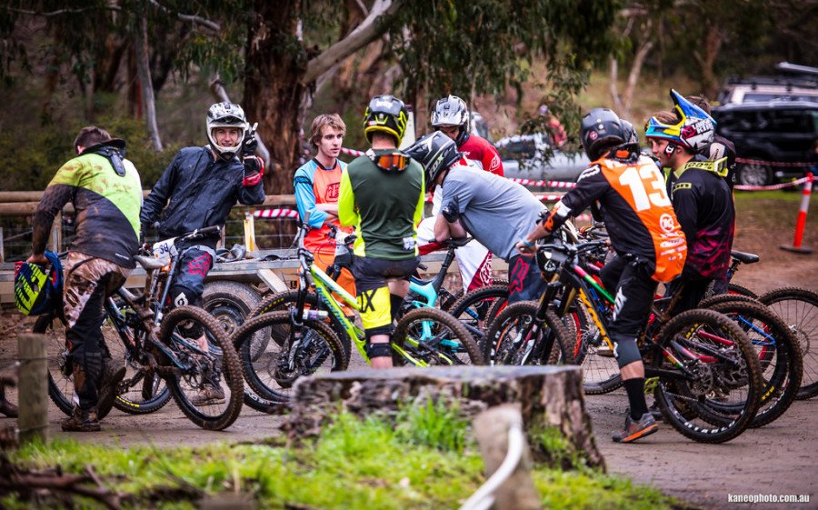Always good to get out riding with your mates plus you might see world cup pro or two!
