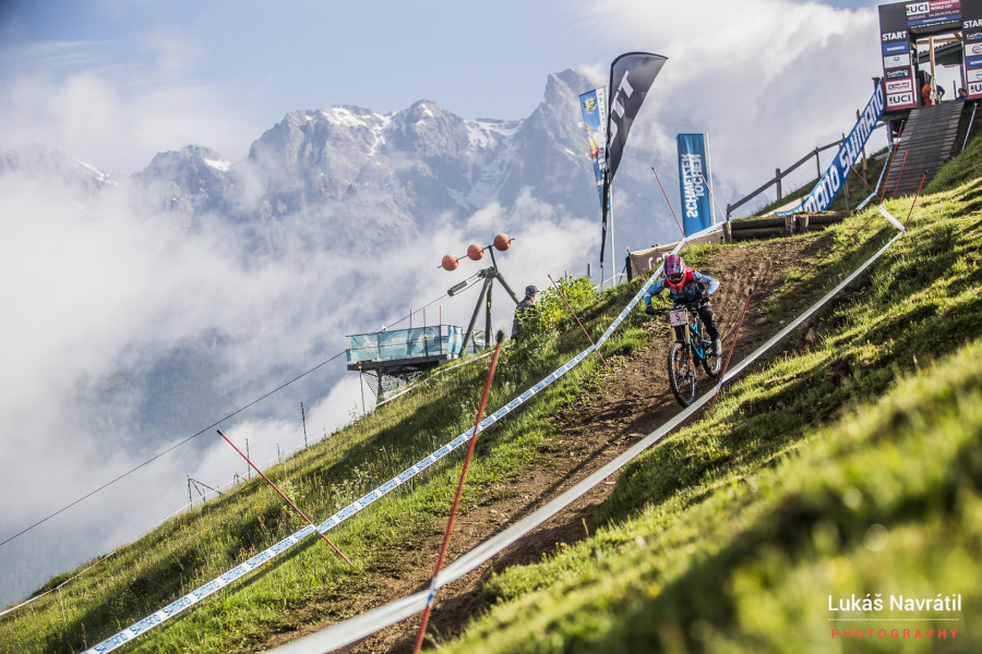 Ah Leogang, one of the most picturesque tracks on the circuit, easy to see why!