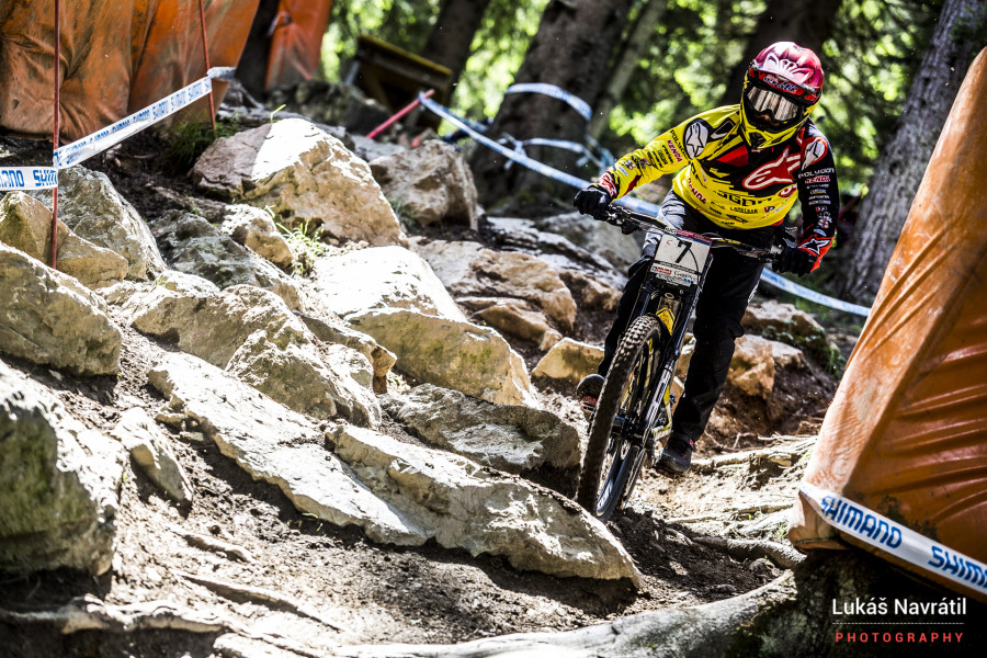 Mic Hannah is having a solid season, sitting 7th in the overall and with a strong record at Leogang.