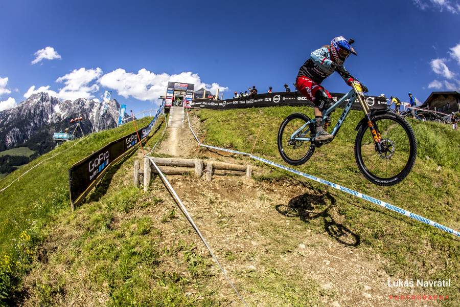 If Rachel Atherton wins this weekend she will have won more consecutive world cups than any other racer.