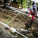 Hopping over to the women's race and Rachel Atherton showed she is in a league of her own with her 10th consecutive world cup victory.