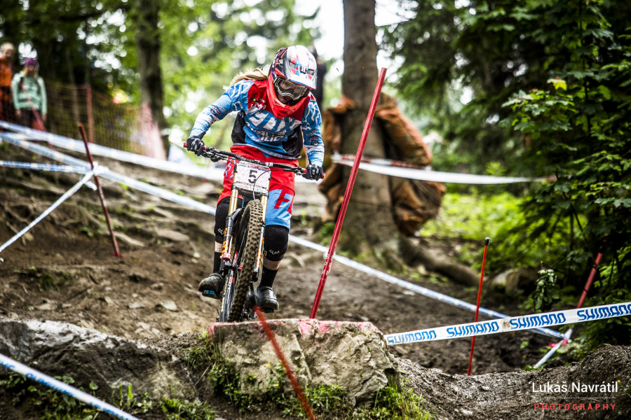 Tahnee Seagrave claimed second place after missing Fort William last week.