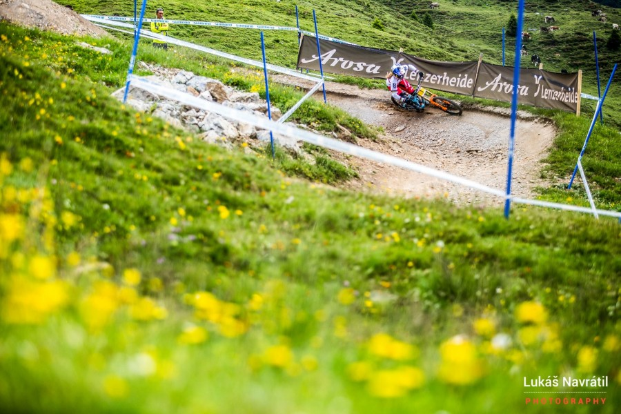 Rachel Atherton is in a class of her won at the moment but even as she knows the chasing pack is closing!