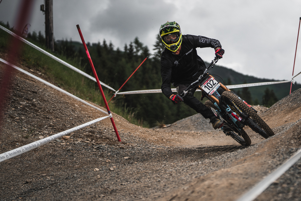 Jake Newell hitting the Leogang turns!