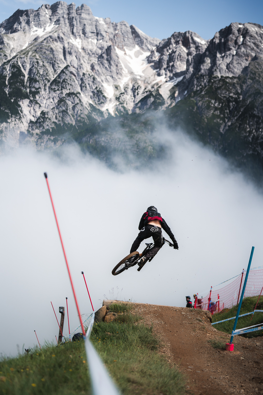 Dramatic pictures are always a given in Leogang!
